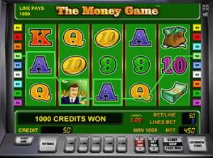 Игровой автомат the money game novomatic ставить онлайн марафонбет